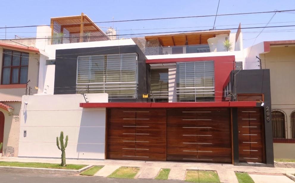 Fachadas y casas fant sticas fachadas para casas de 2 pisos for Pisos para cochera