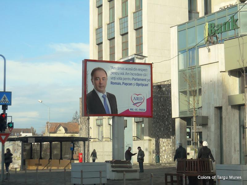 Campanie electorala Targu Mures 2012