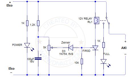 Skema pemutus relay - www.divaizz.com
