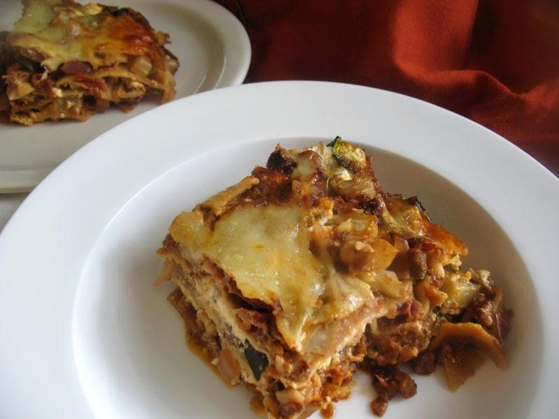 Roasted Vegetable Lasagna | Lisa's Kitchen | Vegetarian Recipes ...