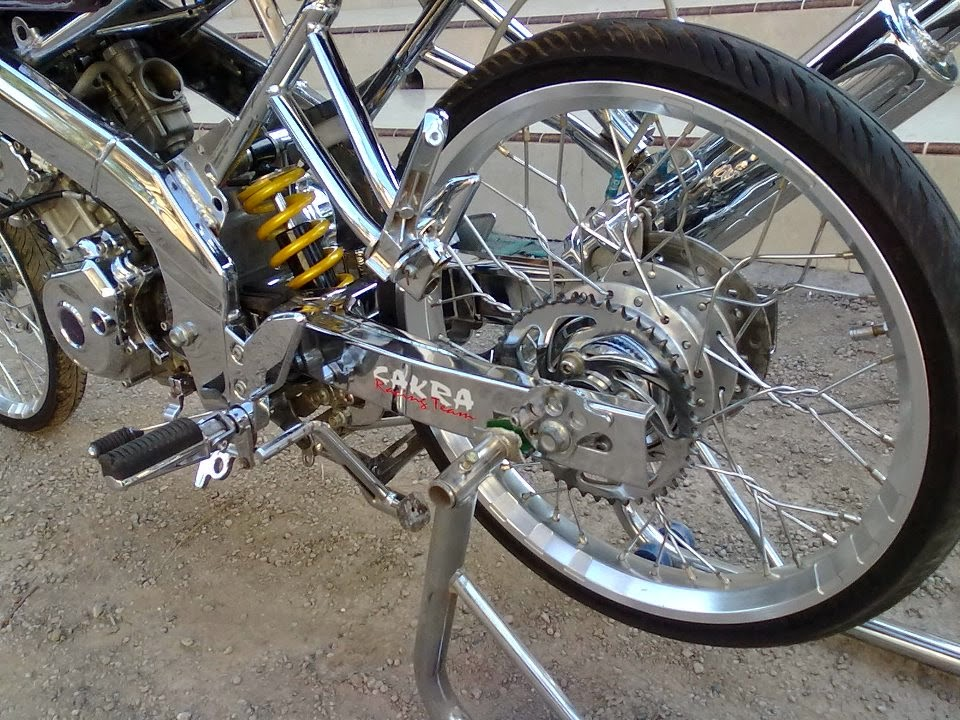 motor full chrome