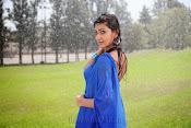 Neelam Upadhyay pics in Blue saree-thumbnail-12