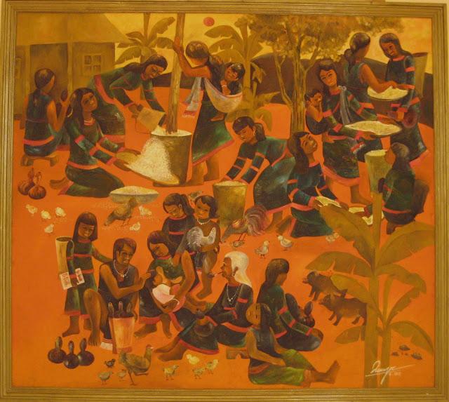Tác phẩm hội họa về đề tài Tây nguyên 19
