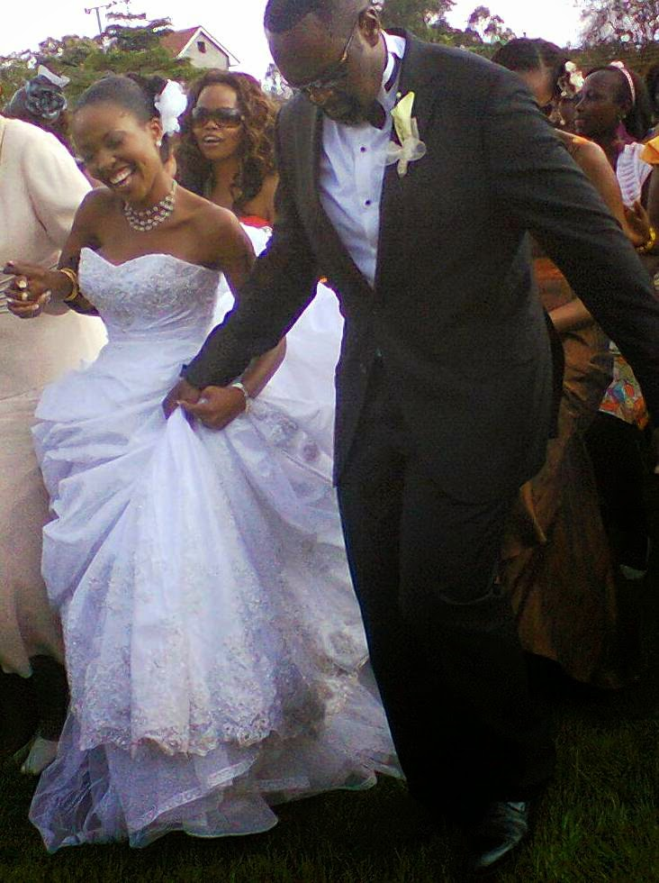 Kambua and jackson wedding