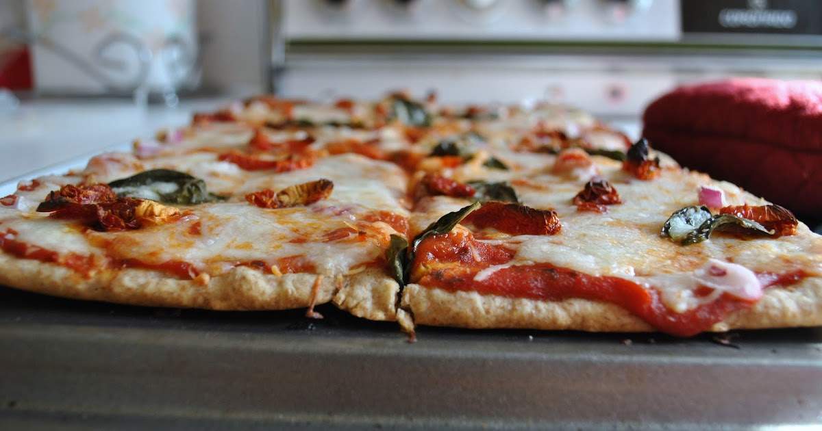 how to make healthy pizza dough no yeast
