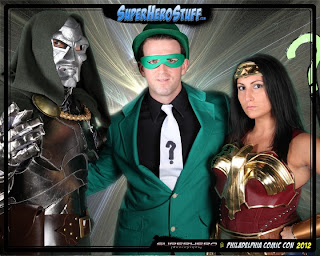 comicon riddler wonder woman dr doom