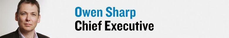 Owen Sharp - Chief Executive of Prostate Cancer UK
