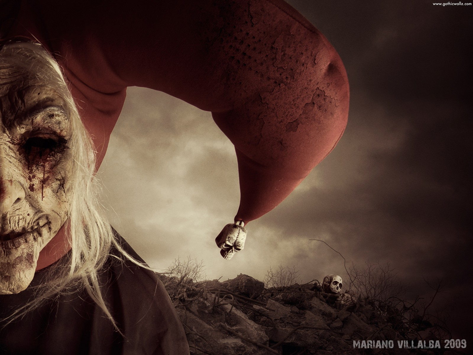 Horror Clown | Gothic Wallpaper Download