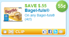 $0.55 off Bagel-fuls