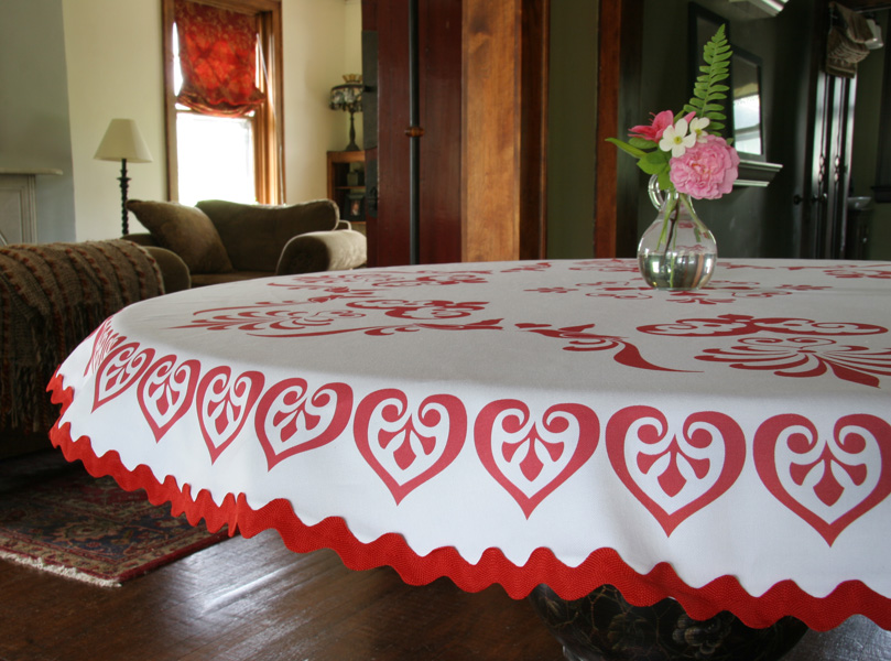 Superb Tablecloth Fabric Design