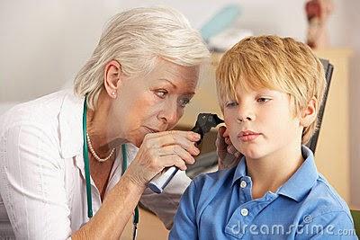 otitis, otitis testicular, problemas de audición, falta de atención