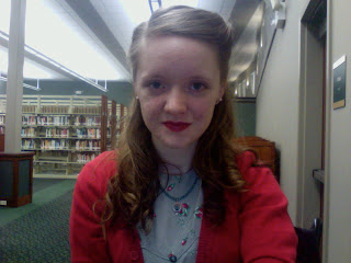 Flashback Summer: Library Day- vintage retro 1940s outfit