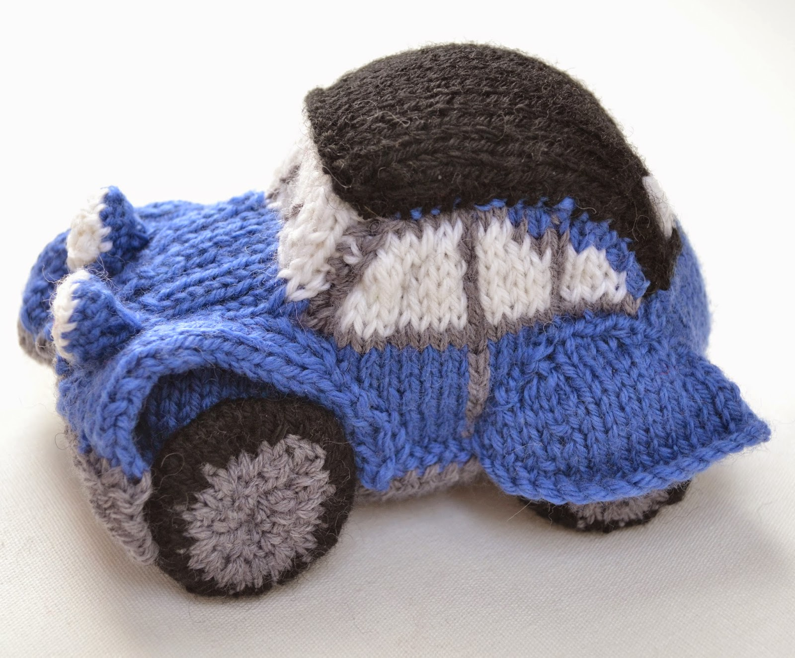 How to knit by car 70