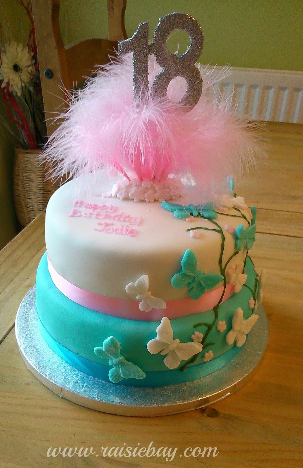 18th Birthday Cake Archives Raisie Bay