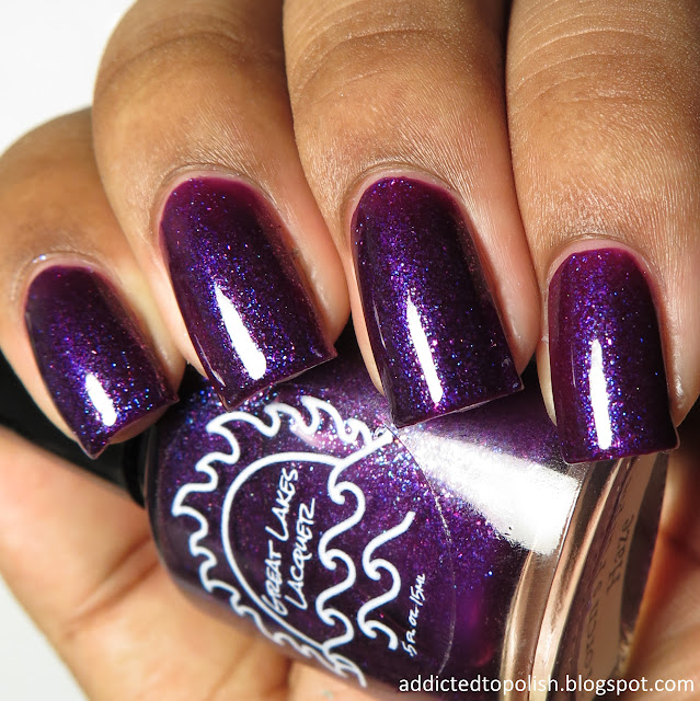 great lakes lacquer torchs purple haze august limited edition