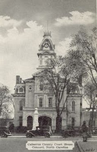 Cabarrus Courthouse Circa 1930's