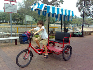 Three Wheelin&#39; in Mui Wo