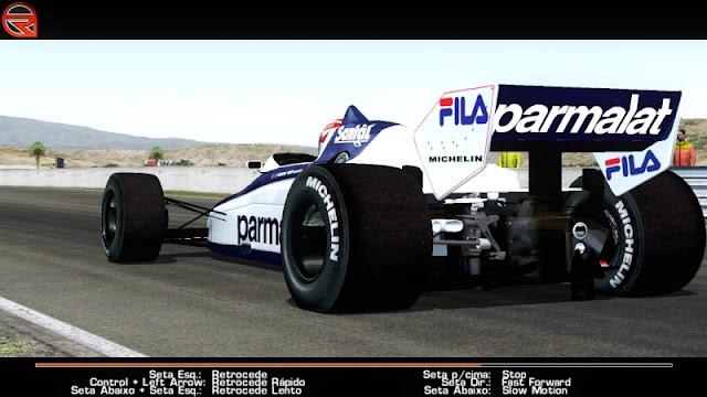 rFactor F1 1984-1983 mod