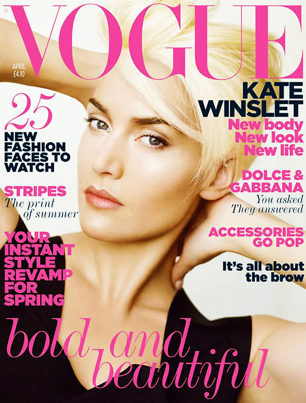 Kate Winslet Vogue April. Vogue,UK,April 2011