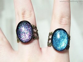 Giveaway: Nail Polish Rings