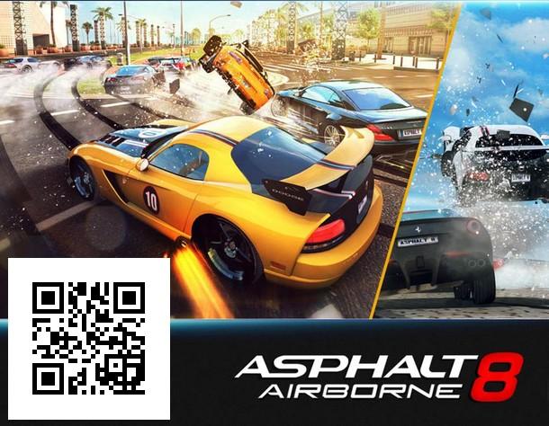Asphalt 8: Airborne IOS için bedava