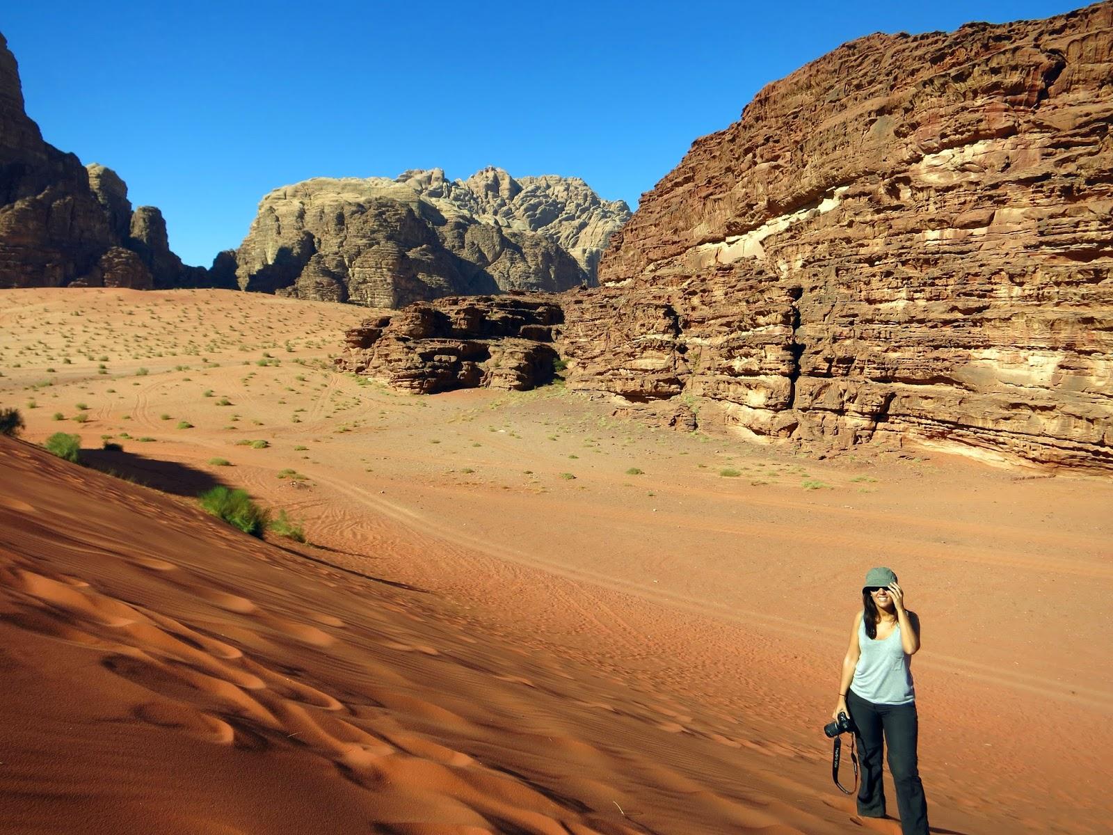 Wadi Rum, dunas