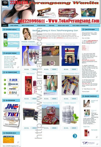 demo web toko online