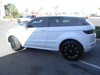 Range Rover Evoque 20 inch Wheels