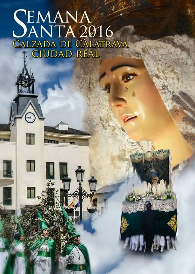 CARTEL SEMANA SANTA CALZADA DE CALATRAVA 2016
