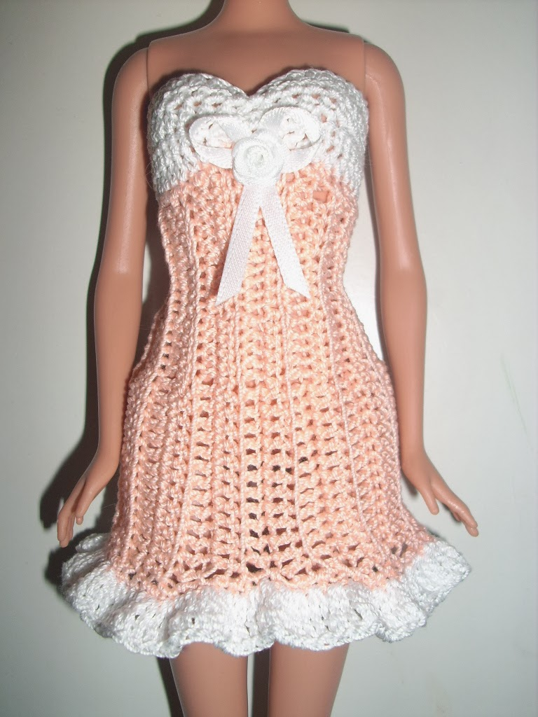 Crochet Barbie : Crochet for Barbie (the belly button body type): Creamsicle Cutie ...