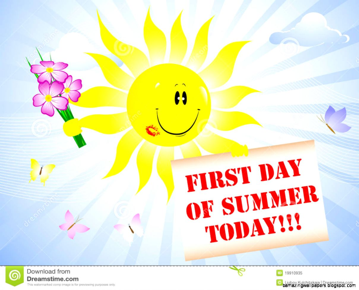 First Day Of Summer Royalty Free Stock Photo   Image 19910935