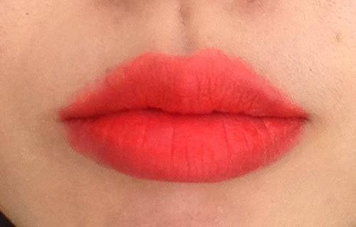 Wet N Wild Purty Pursimmon Lip Swatch