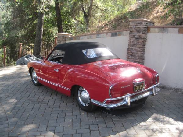1964 Karmann Ghia Convertible For Sale - Buy Classic Volks