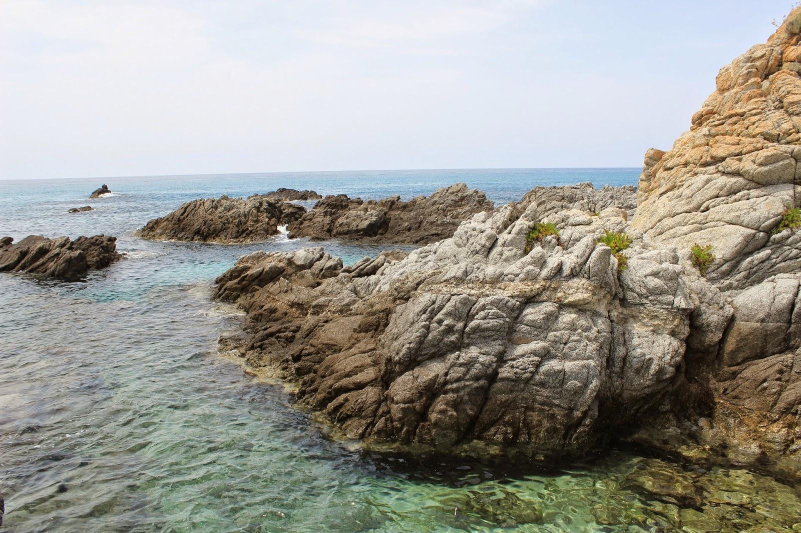 Plaża Grotticelle (Capo Vaticano), Kalabria, Włochy