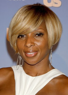 Blonde African American Bob Hairstyles