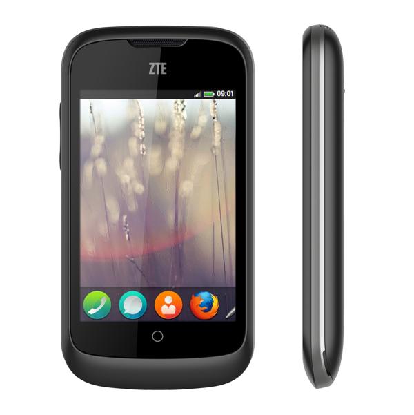ZTE Open smartphone. Announced 2013, February. Features 3G, 3.5 TFT capacitive touchscreen, 3.15 MP camera, Wi-Fi, GPS, Bluetooth.
