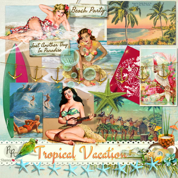 Mini Weekend Vacations: Raspberry Road Designs: New Collection & Free Mini Kit