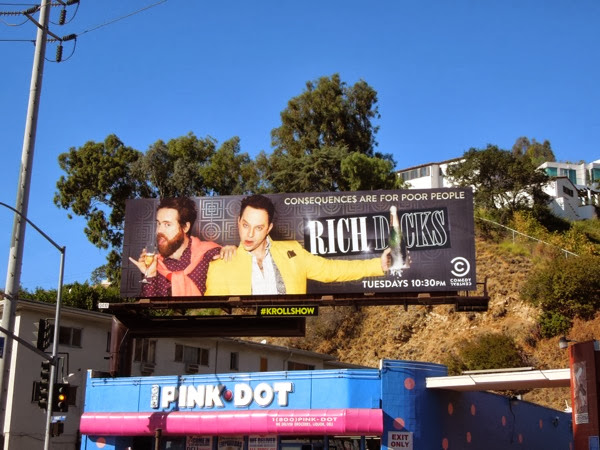 Rich Dicks Kroll Show season 2 billboard