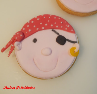 Galletas pirata chico fondant