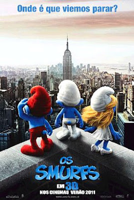 Filme Poster Os Smurfs TS XviD & RMVB Dublado