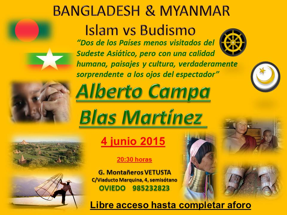 "PROYECCION ""BANGLA Y BURMA"""