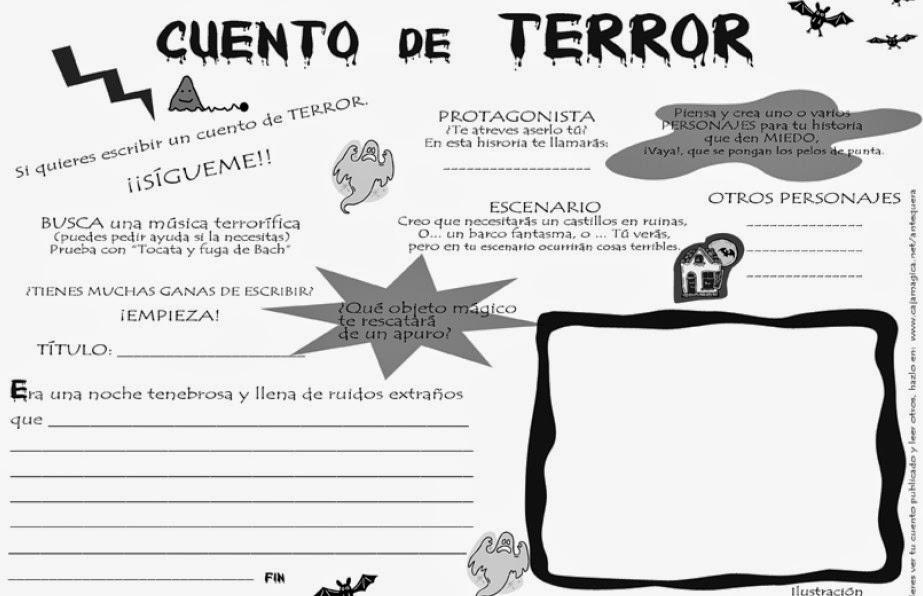 PINTOR DE PALABRAS: CUENTOS DE TERROR