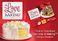 free Love of Baking eCookbook