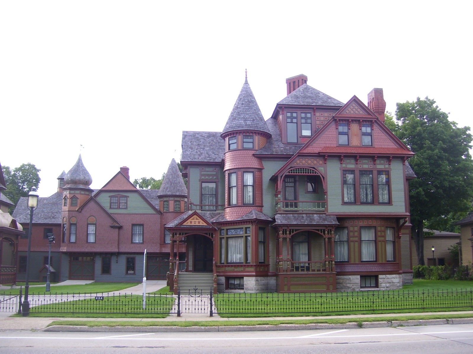 The hackley and hume historic homes muskegon michigan House builders in michigan