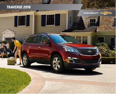 Downloadable 2016 Chevrolet Traverse Brochure