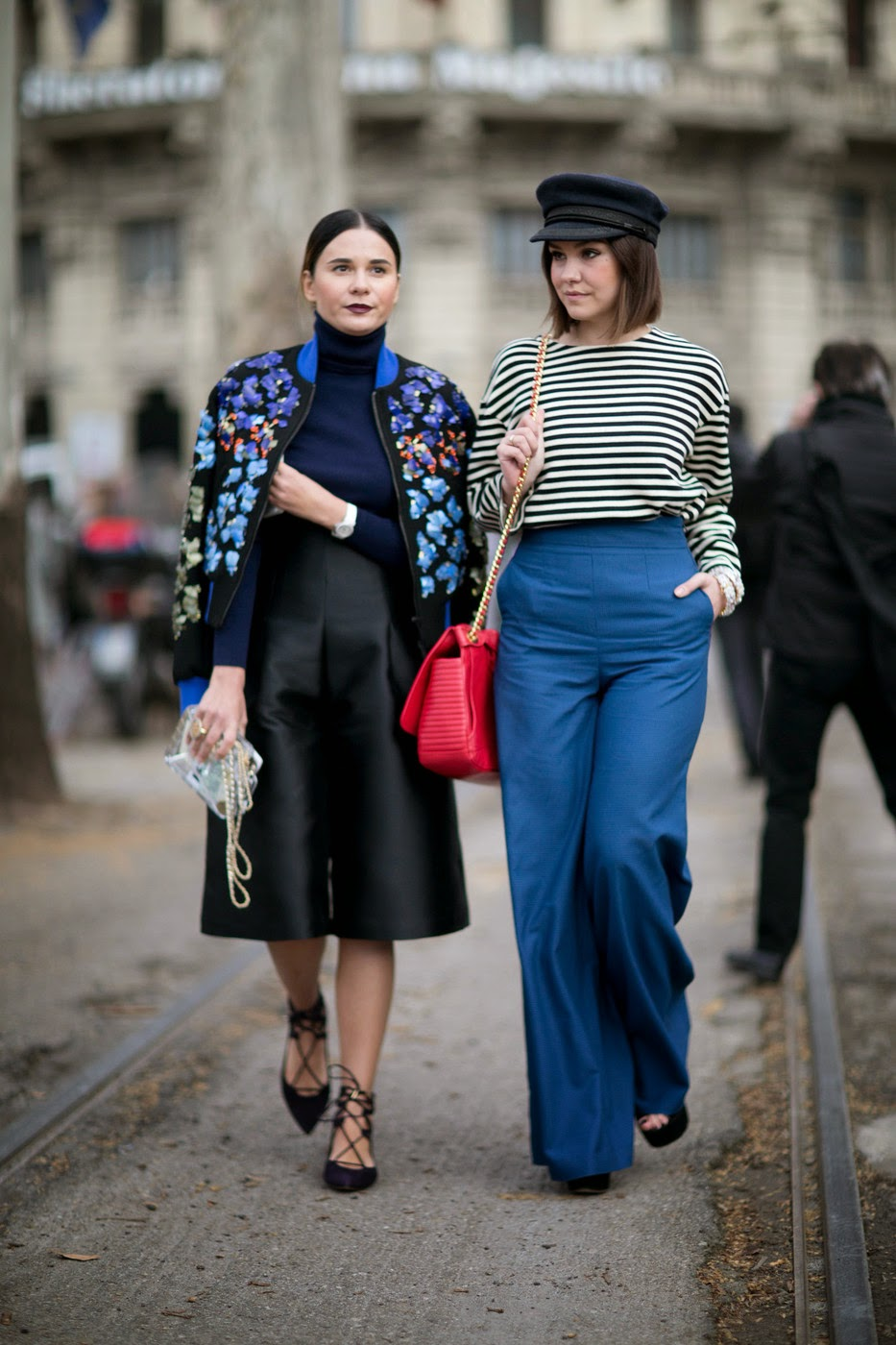 Attendee Street Style Milan Fashion Week A W 2015 The Front Row View