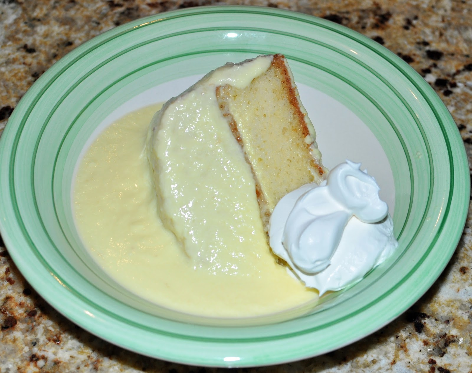 The bake more custard creme anglaise cake not too - Creme anglaise ...