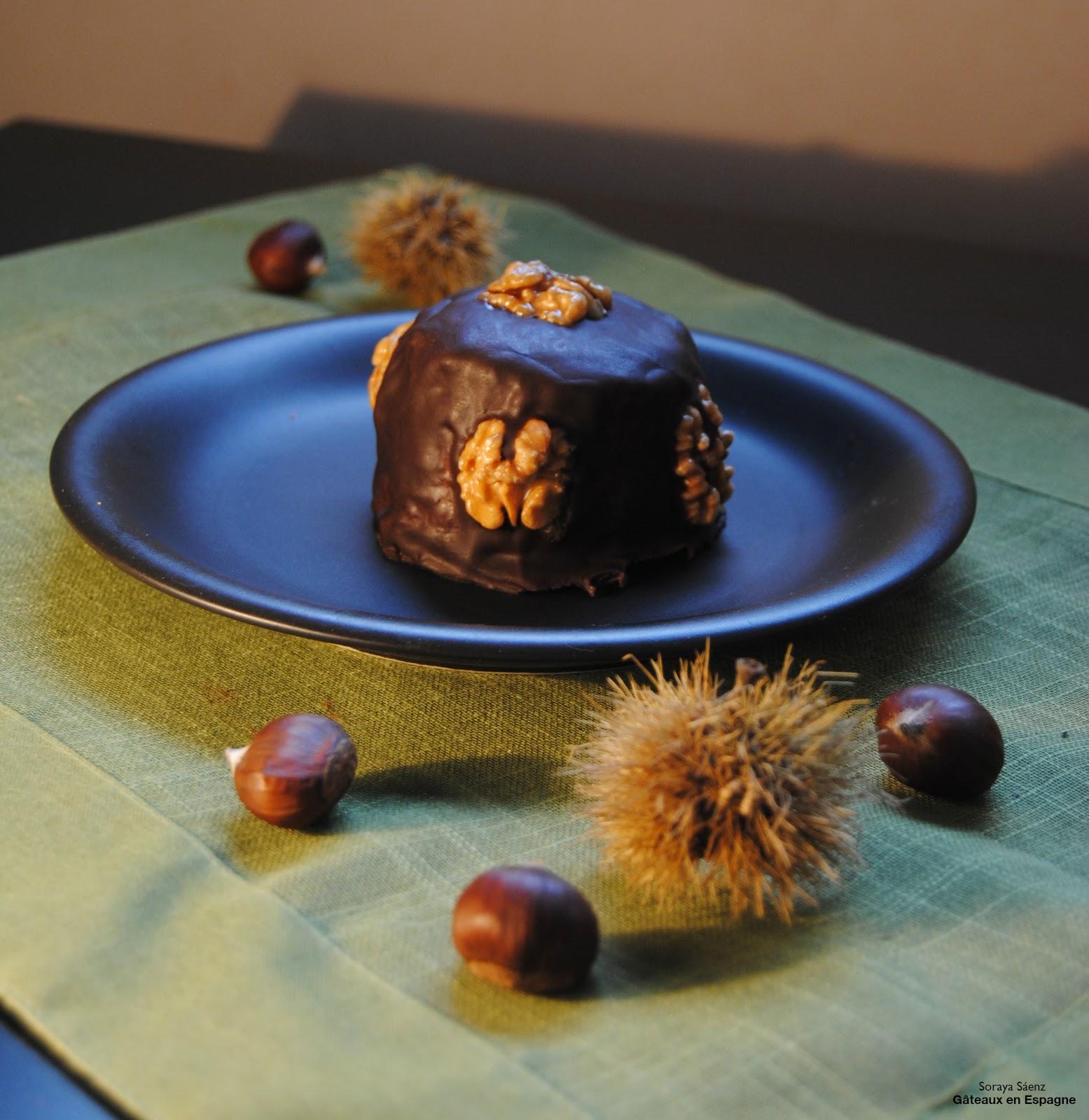 Gâteau Au Chocolat Glaçage Aux épices: GÂTEAUX EN ESPAGNE: Gâteau Au Chocolat Aux Marrons