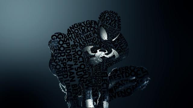 Typography Heroes Marvel DC