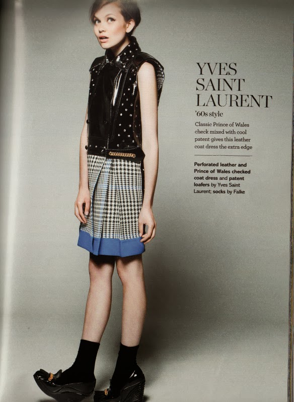 yves saint laurent glamor magazine